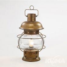 Captan lampa stołowa  brąz ziemisty 1x28W E14  IP44