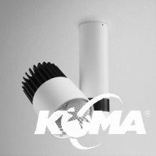 Roll reflektor 33W led 3000K 2990lm KAT48° biały/szary