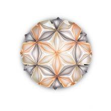 La_vie kwiat życia plafoniera bursztynowa  2x12W E27