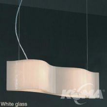 Vento oprawa wisząca 2x33W białe szkło