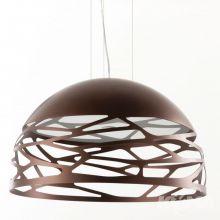 Kelly lampa wisząca 3x46W E27 230V miedziany brąz