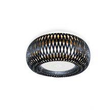 Kalatos plafoniera czarno / złota 4x12W E27 230V