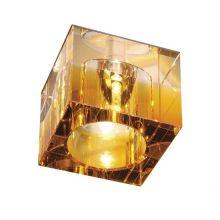 Yudi lampa wpuszczana 1x35W G6 12V bursztynowa/transparentna
