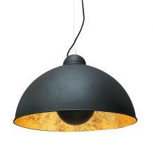 Antenne lampa wisząca 1x60W E27 230V czarno-złota