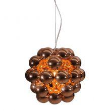 Beads lampa wisząca 1x100W E27 230V miedziana
