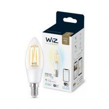 WiZ żarówka transparentna 4.9W LED = 40W E14 2700-6500K 806lm CRI 90
