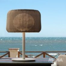 Fora lampa stolowa 2x21W E27 bialy/bez
