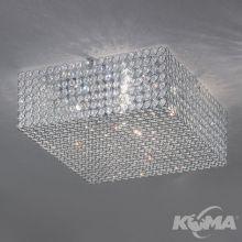 Liento plafon 6x33W G9 230V chrom/transparentny