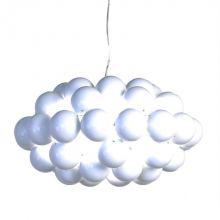 Beads 77 lampa wisząca 1x100W E27 230V biała