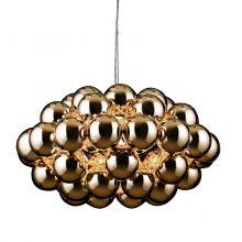 Beads 77 lampa wisząca 1x100W E27 230V miedziana