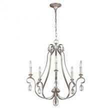 DeWitt żyrandol lampa wisząca 5x60W E14 230V srebrny