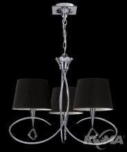 Mara lampa wiszaca 3x20W E14 antyczny mosiadz