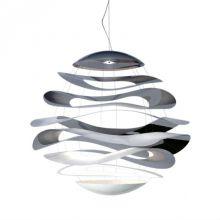 Buckle 70 lampa wisząca 15,5W LED 2800K 230V chrom