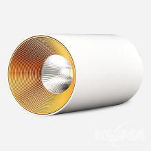 Agate lampa sufitowa 15W LED 3000K 230V biała