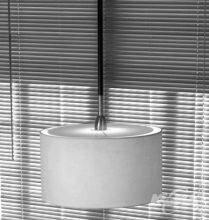 Danona 1 luz oprawa wiszaca 1x100W E27 skora cuir bawelna