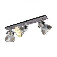 Barnstaple reflektor 3x40W E27 230V brąz-patyna