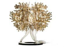 Fiorellina lampka stołowa E14/12W gold
