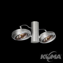Optique A21 reflektor G53 2x50W C02 - czarny