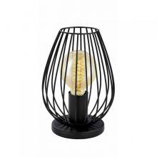 Newtown lampa stołowa 1x60W E27 czarny