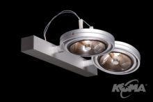Optique a kinkiet 2xs111/50w/230V aluminium