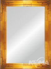 Isabel lustro 40x100 złote z rama 67.6X117.6