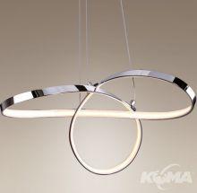 Infinity lampa wisząca 25W LED 3000K chrom