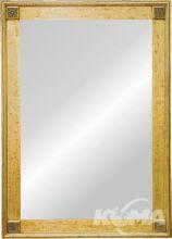 Dana lustro 60x120 gold z rama 77X137
