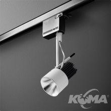 Reflektor na szynoprzewód biały (mat) 1x10,8W LED 230V