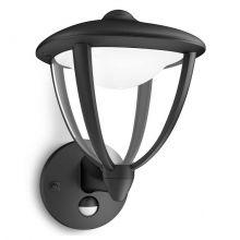 Robin kinkiet zewnętrzny z czujką ruchu 4.5W LED 230V czarny