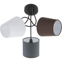 Almeida lampa sufitowa 3x40W E14 230V wielokolorowa