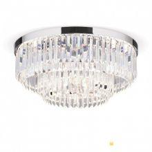 Prism led plafoniera sufitowa chrom kryształ śr.55 cm  80W LED 3000K