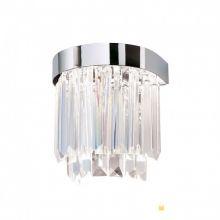 Prism led kinkiet ścienny chrom kryształ  17W LED 3000K