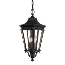 Cotswold Lane lampa wisząca zewnętrzna 2x60W E14 230V czarna