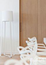 Poulpe lampa podłogowa E27/100W biała