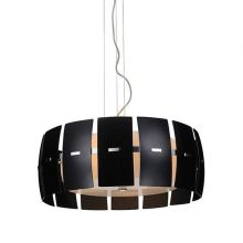 Taurus lampa wisząca 4x40W E27 230V czarna