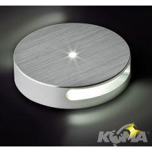 Oprawa przyschodowa LED 1x1W aluminium szczotkowane