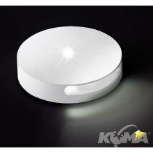Oprawa schodowa wpuszczana 1W LED biała
