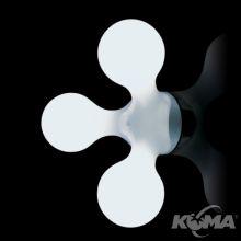 Atomium kinkiet 3x40W E14 white