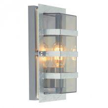 Boden kinkiet zewnętrzny 1x46W E27 230V ocynk/transparentny dymiony klosz
