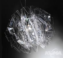 Crazy diamond oprawa wiszaca 1x1000W E27 transparentny