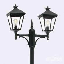 London_big lampa stojąca zewnętrzna czarna  2x77W E27 IP54