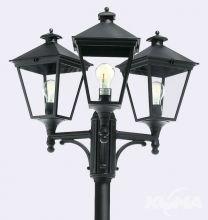 London_big lampa stojąca zewnętrzna czarna  3x77W E27 IP54