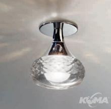 Fairy oprawa stropowa 1x6.6W led h10cm warm crystal