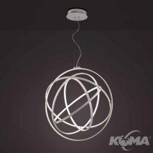 Orbital lampa wisząca + pilot ściemniający 130W LED 3000K 230V biała