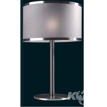 ---cotto biurkowa lampa 1x60W E27 h60 sr.40 nikiel