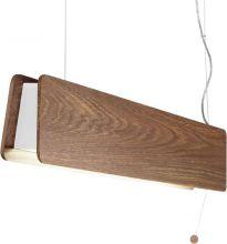 Oslo Oak lampa wisząca 1x11W T8 230V drewno