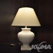 Hiszpanka  lampa stołowa ceramiczna spękana ręcznie wypalana 60W E27 h 56cm