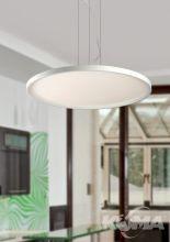 Atlantis lampa wisząca LED 1x84W 230V biała / chrom