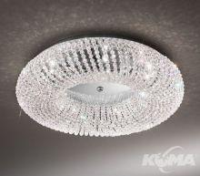 Carla plafon kryształ Kolarz 5x33W G9 s.55 chrom/crystal