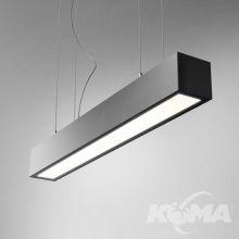 Set Aluline lampa wisząca 9W LED 3000K 230V czarna mat